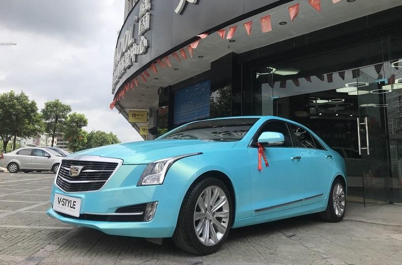 桂林一宝马_经典案例 / 改色膜案例_桂林市天成车业